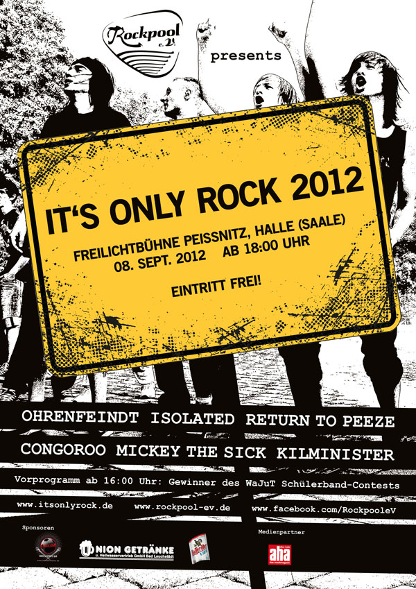 IT'S ONLY ROCK 2012
